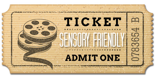 Sensory Friendly-ticket